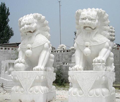 供应传统石狮子风水石狮子招财石狮子