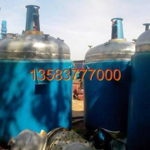 贵阳二手304材质不锈钢反应釜图片