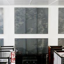供应一品仁德铝合金镂空板外立面铝幕墙定制门窗幕墙铝材切割精雕冲花批发