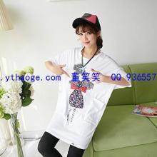 供应上海批发市场服装批发厂家韩版休闲大码女式卫衣女装T恤批发图片