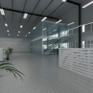 浦东办公室装修,三林厂房装修设计图片