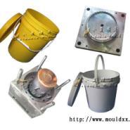 注射模具15L润滑油桶塑料模具图片