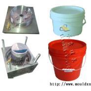 台州注射模具5L涂料桶塑胶模具图片
