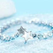 哪里有最新款水晶星座手链批发零售图片