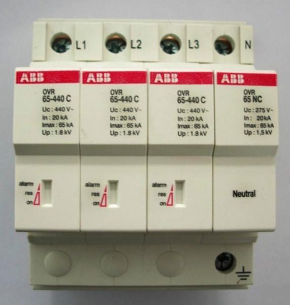 供应ABB浪涌保护器65KA 浪涌防雷器 电源防雷器 信号防雷器 型号齐全