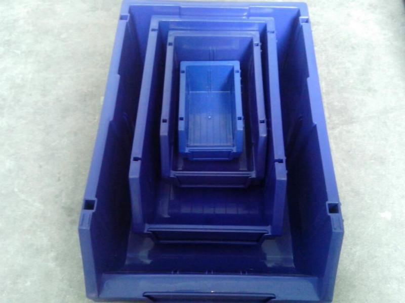 供应组立式2号零件盒塑料零件盒