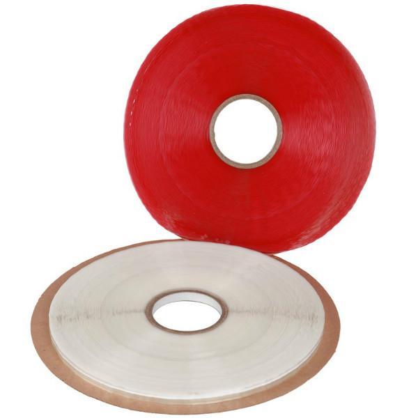 供应OPP封缄胶带 高粘 自粘双面胶,厂家直销OPP03/05/08MM,分左右/红白线胶带
