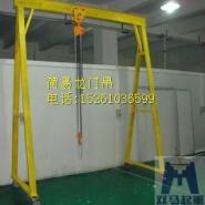 简易门式吊机图片