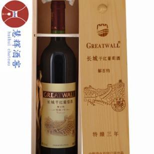 长城特酿三年解百纳干红葡萄酒图片