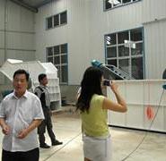 华东生产电池破碎机生产线图片