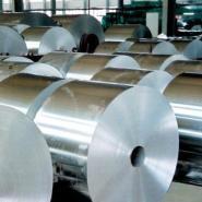 单面双面覆膜铝板单双零铝箔图片