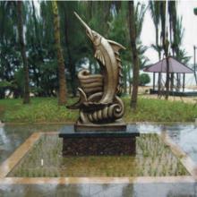 供应铸铜鱼雕塑.金枪鱼.鲤鱼生产厂家
