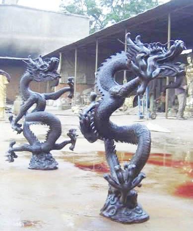 供应铸铜龙.铜雕龙雕塑.大型龙铸造厂家