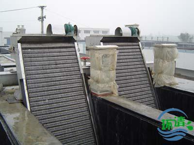 废水处理工程——济南环清环保工程机械格栅,usab布水系统