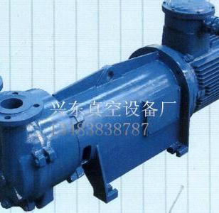 防爆水环式真空泵图片