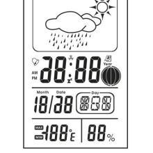 供应时钟月相温湿度计芯片ICZH1308图片