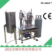 供应圣诞喷雪灌装生产线,国内专业的半自动灌装设备
