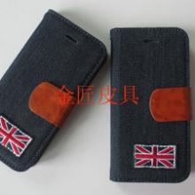 供应iPhone6手机套牛仔布手机壳
