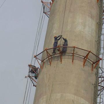 供应菏泽烟囱维修,哪家单位在维修烟囱这方面最专业?