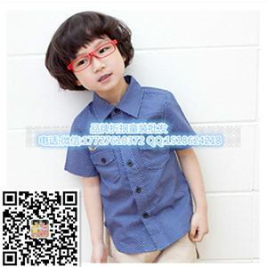 广州蓝精灵品牌折扣童装图片