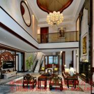 深圳高端中式别墅装修图片