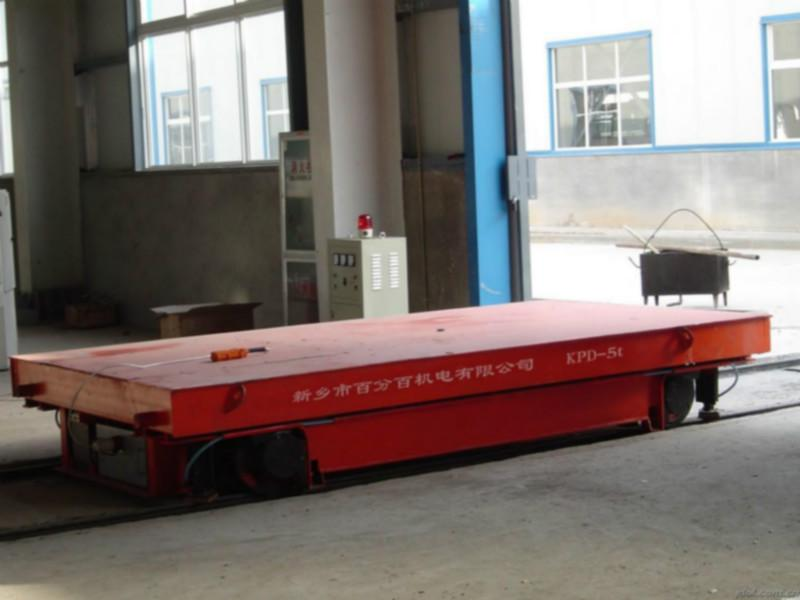 供应供应钢轨传送工具电动平车直销图片