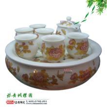 供应陶瓷茶具礼品套装 青花瓷茶具