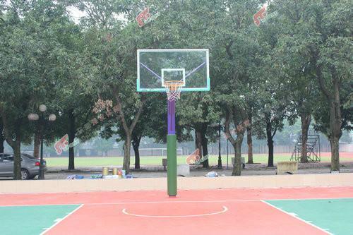定制篮球架保护套圆形篮球架杆包柱销售
