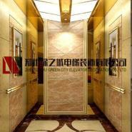 开封绿之城电梯装潢电梯装修图片