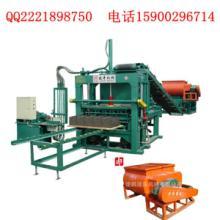 供应天津建丰中型半自动水泥砖机出口非洲阿尔及利亚