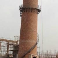 烟囱新建中烟道施工技术