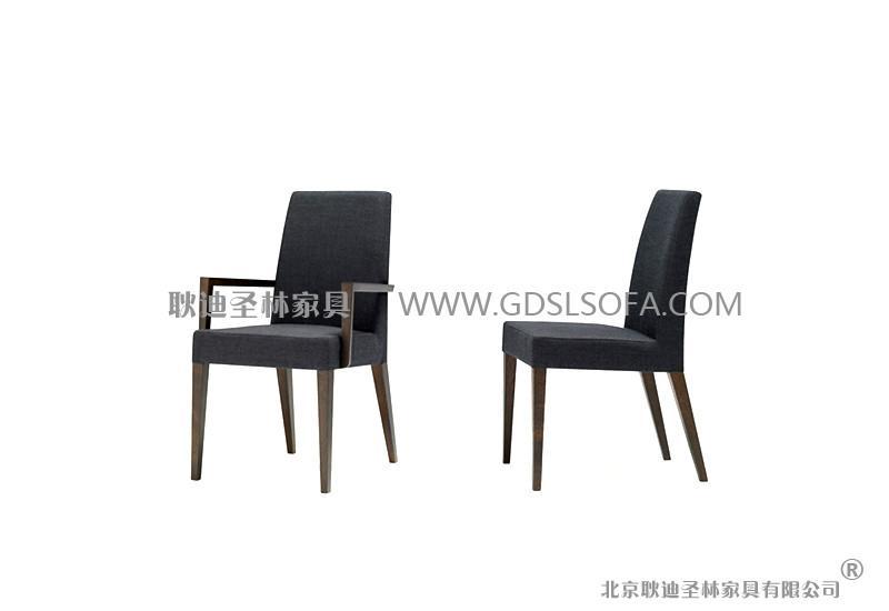 供应黑色实木餐厅椅子,时尚休闲餐厅椅子,餐厅椅子制造厂材质说明图片