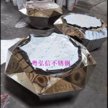 供应不锈钢茶几脚批发 玫瑰金不锈钢茶几脚定做 不锈钢家具定做图片