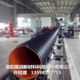 供应HDPE钢带波纹管