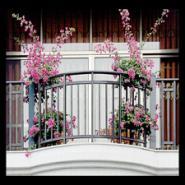 帕达龙铝合金栏杆阳台楼梯扶手飘窗图片