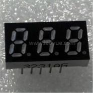 0.32英寸三3位led数码管蓝兰光图片