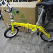 折叠自行车14寸改装图片