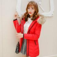 中长款外套大衣时尚韩版羽绒服图片