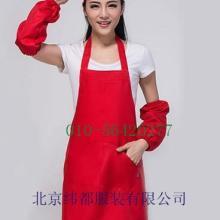 供应餐厅围裙围围兜可调节围裙围裙加工刺绣围裙