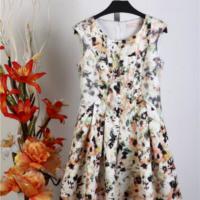 供应爱博尔服装品牌过季货源棉布连衣裙剪标女装正品清仓那里拿货