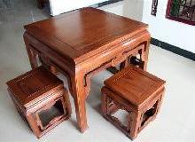 供应小方桌红木/花梨木小方桌/实木餐桌/花梨木餐桌/鸡翅木小方桌