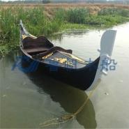 优质威尼斯贡多拉游船图片