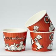 淋膜纸杯纸碗奶茶杯麻辣烫纸碗图片