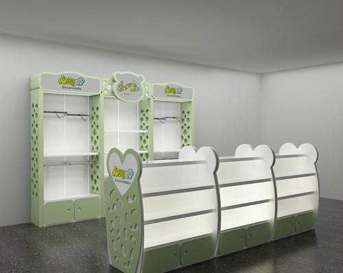 供应婴童用品展示柜,江苏精品母婴婴童用品展示柜供应,婴童用品展柜定制