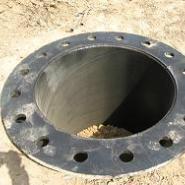 电杆基础 10kv钢杆基础图片