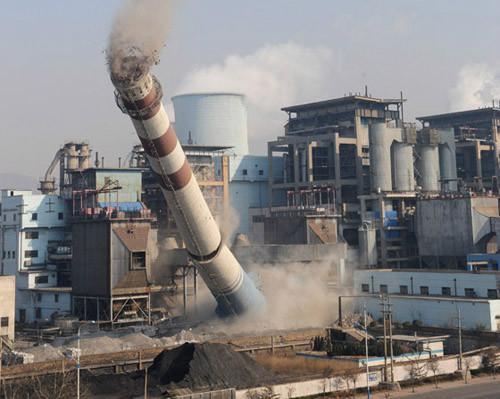 供应拆除锅炉烟囱,天水锅炉烟囱拆除施工单位,承包锅炉烟囱拆除工程