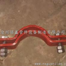 供应碳钢管卡江苏无锡碳钢管夹管托厂家批发汽水管道双孔短管夹抱箍现货批发
