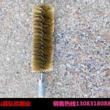 供应去刺清洗管道刷/优质打磨钢丝刷在弘欣刷业/尼龙丝管道刷