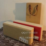 麻布面环保茶叶包装礼盒图片