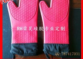 微波炉耐高温硅胶手套图片